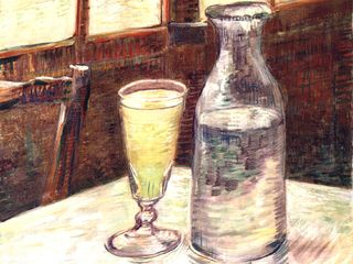 Van-Gogh-Glass-Of-Absinthe-And-A-Carafe
