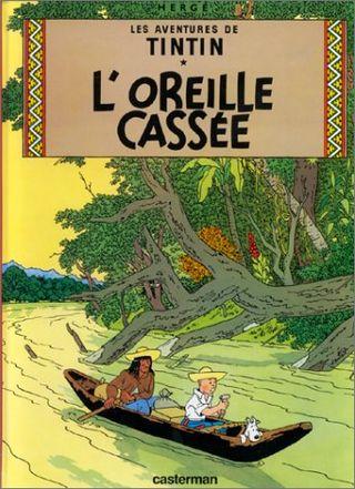 Tintin_&_L'oreille_cassee