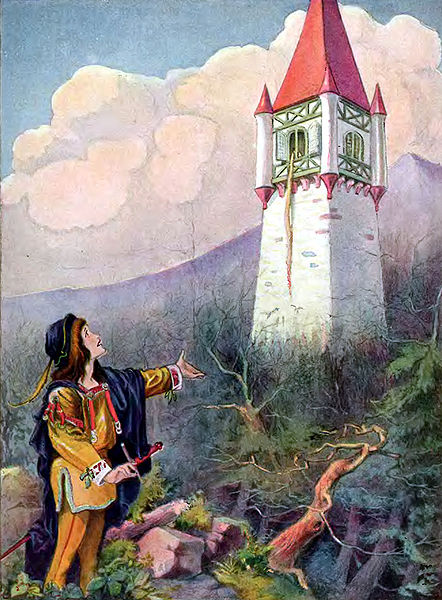 442px-Johnny_Gruelle_illustration_-_Rapunzel_-_Project_Gutenberg_etext_11027